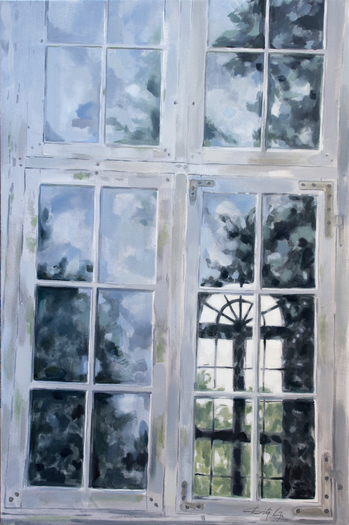 Dita Luse - Old window