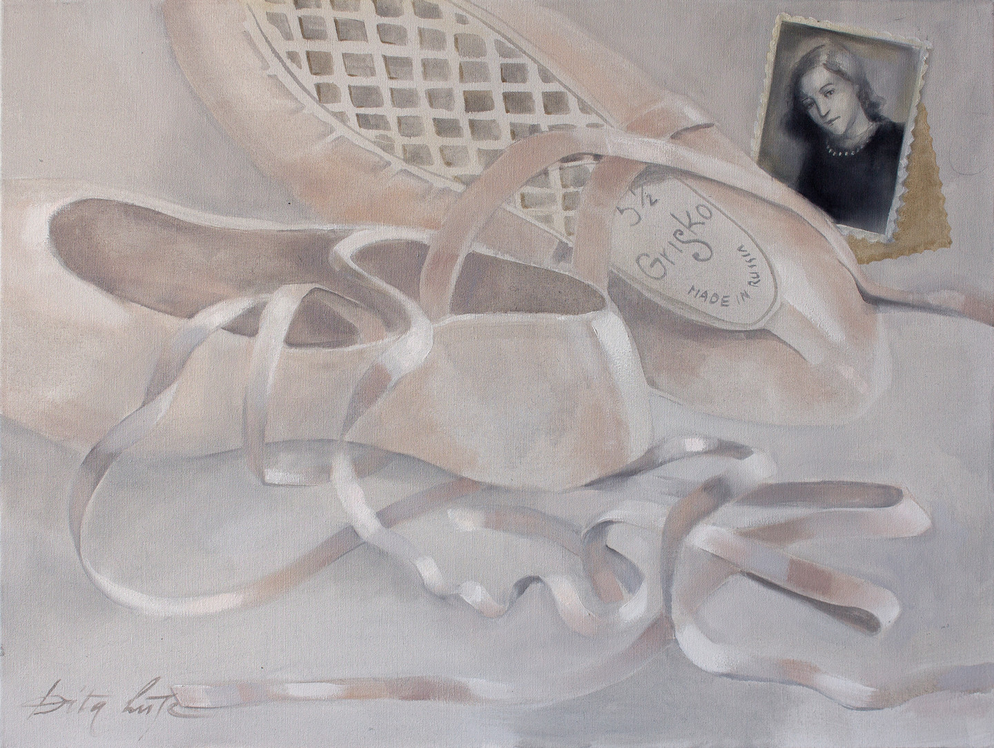 Dita Luse - Pointe shoes II