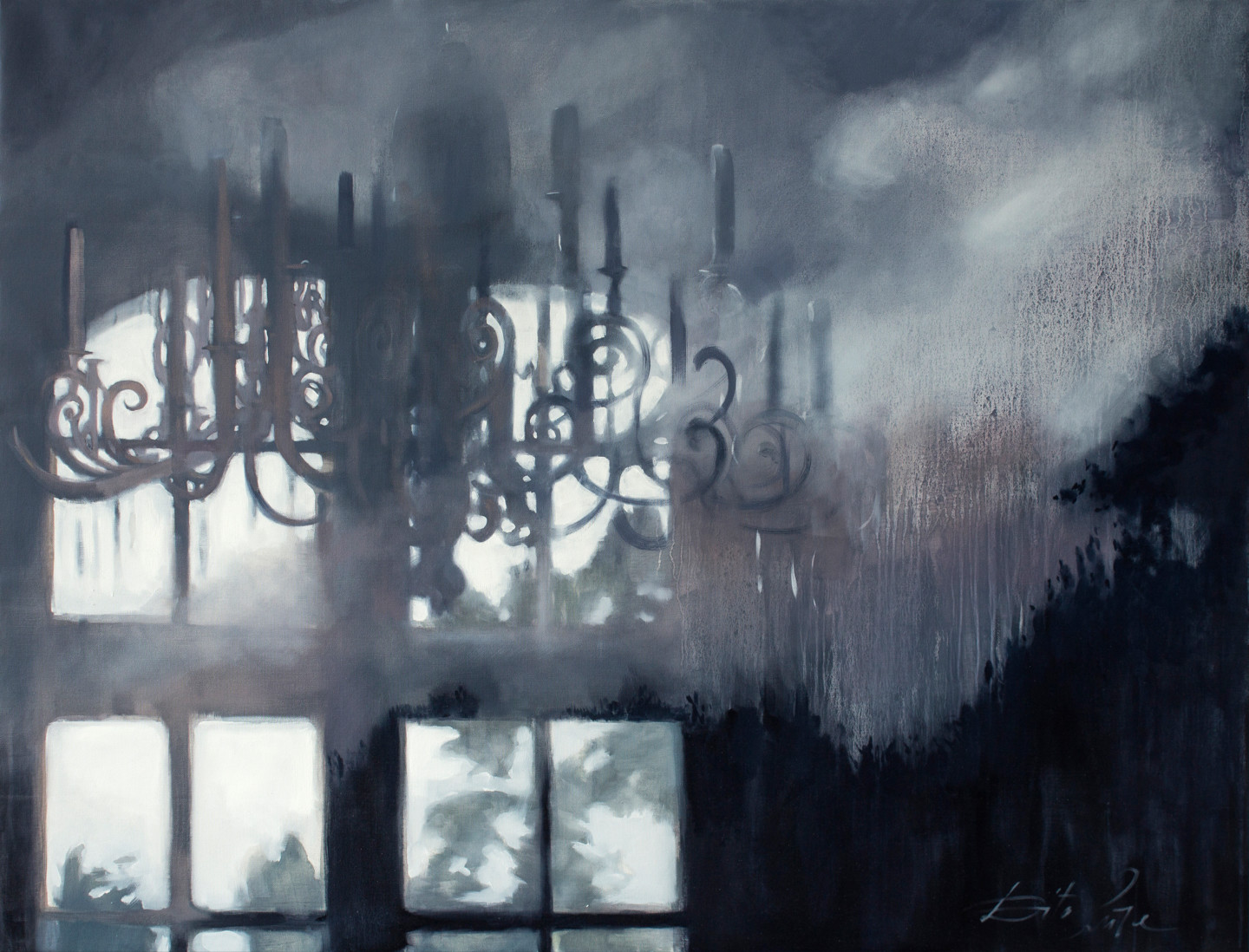 Dita Luse - Clouds and candles
