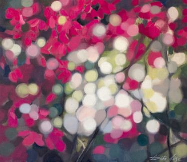 Glitter. Floral