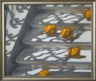 Rolling oranges