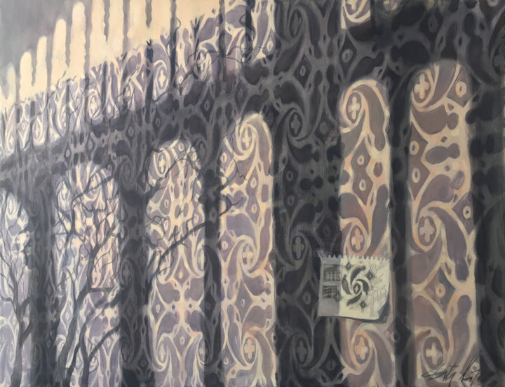 Dita Luse - Light, pattern and scetch